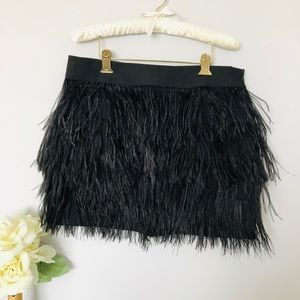 Blaque Label   Feather Skirt